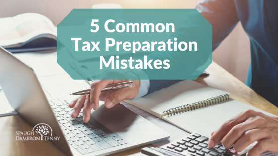 common tax prep mistakes doctors make