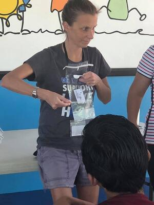 Kathy Raynor Teaching