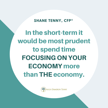 Focus on your economy quote graphic