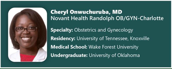 Cheryl Onwuchuruba, MD