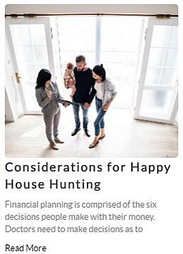 Considerations for Happy Home Hunting CTA