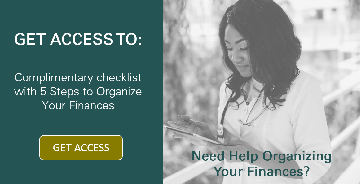 Financial Organization Checklist Button