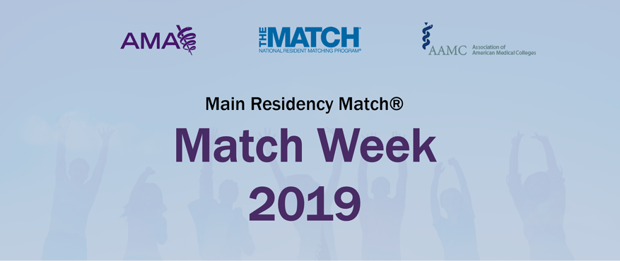 Main Residency Match Day 2019