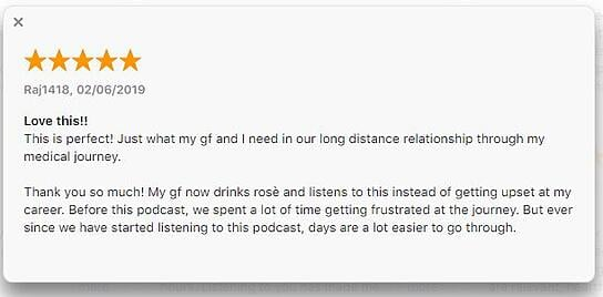 Married to Doctors Podcast Reviews