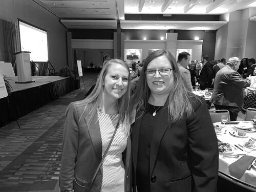 Molly Holbert of Spaugh Dameron Tenny & Lori Giang, CEO of NC MedAssist at the NC MedAssist 2019 Executive Luncheon