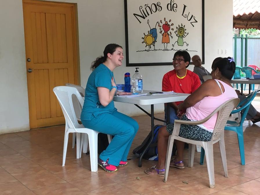 Internal Medicine Resident serving through scholarship