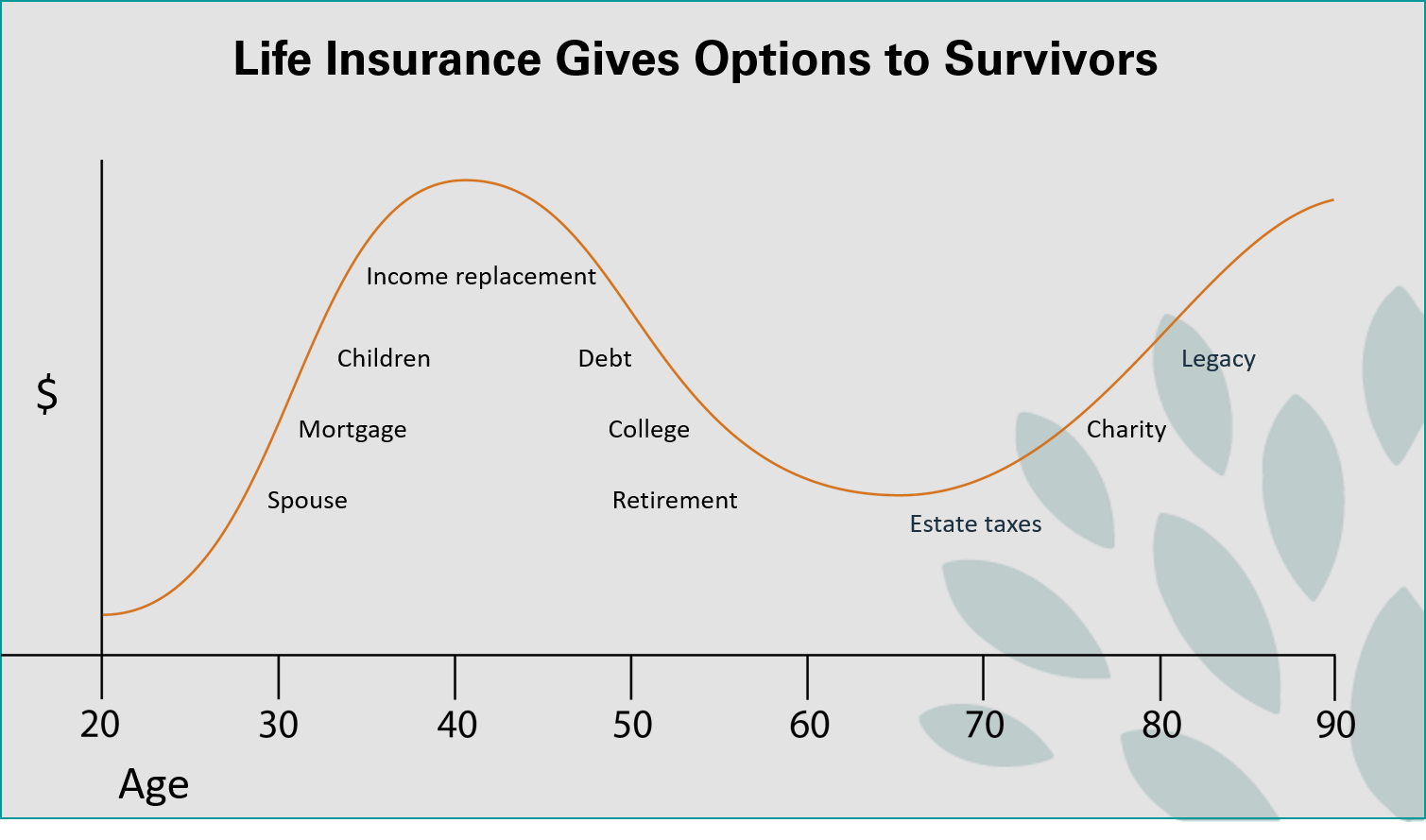 life insurance gives options to survivors