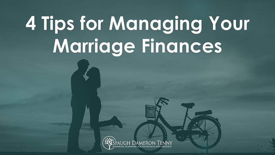 Managing marriage finances