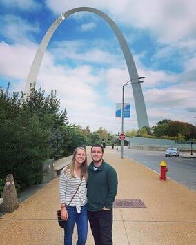 Molly and Daniel Gateway Arch