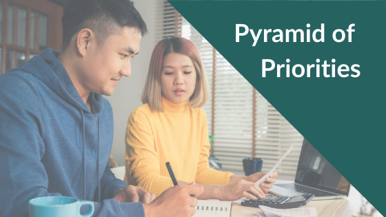 Pyramid of Priorities Blog Banner