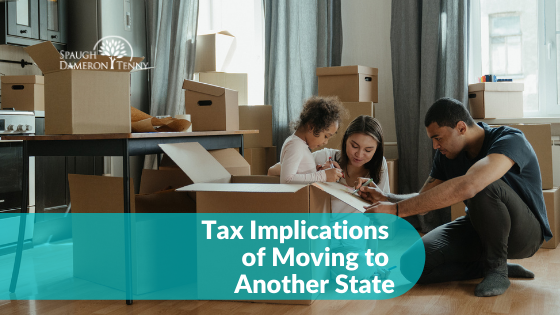Tax Implications of Moving to Another State