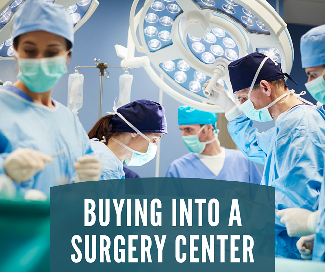 buying into a surgery center