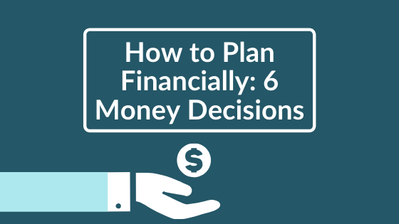 how to plan financial blog banner